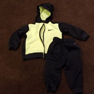 Baby boy Nike matching outfit size 12m